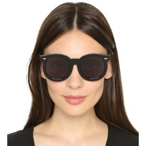 Karen Walker Super Duper Thistle Retro Sunglasses